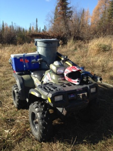 Removal of the most remote water monitoring equipment began in late fall.