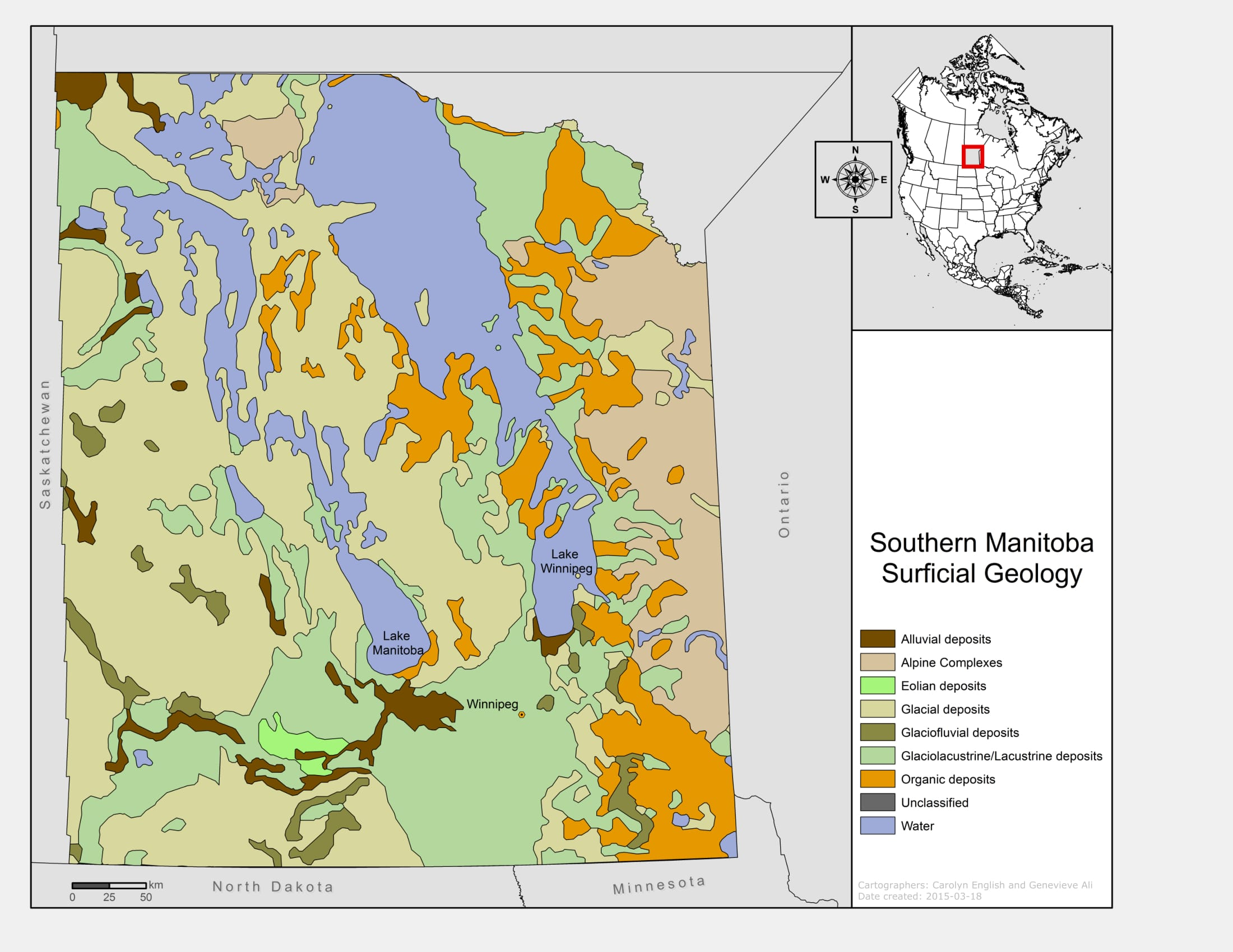MAP GALLERY Watershed Hydrology Research University of Manitoba